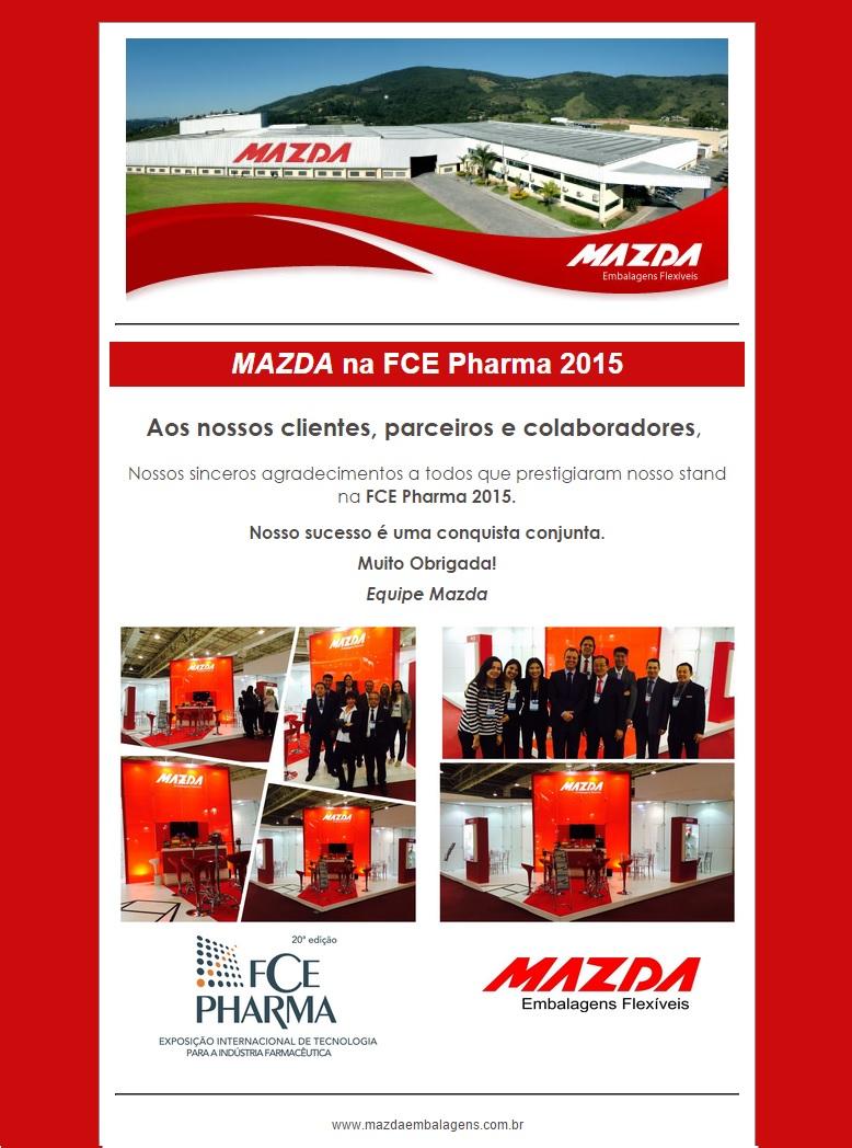 MAZDA na FCE PHARMA 2015